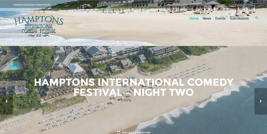 HamptonsInternationalComedyFestival.com