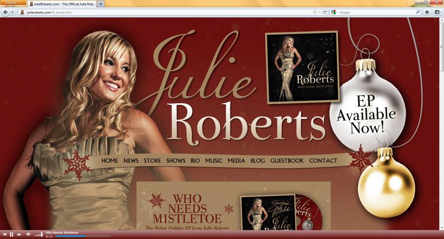 JulieRoberts.com