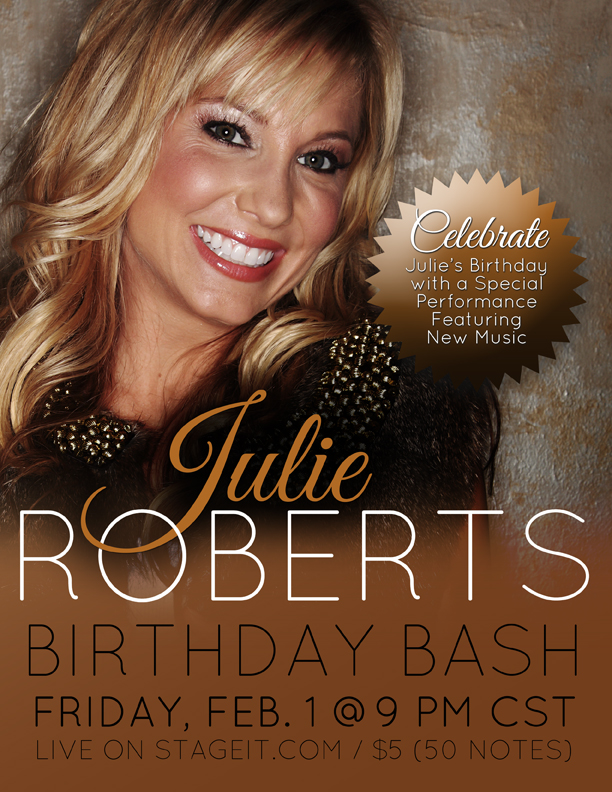 Julie Roberts' Birthday Bash
