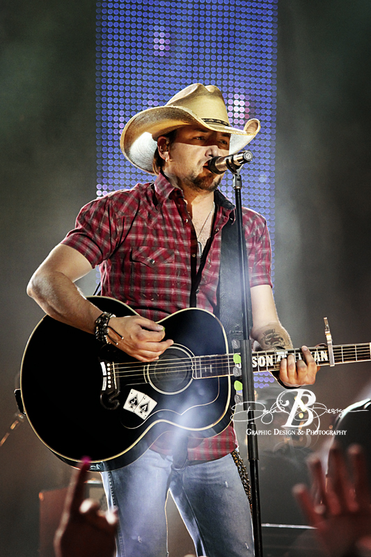 Jason Aldean at CMT Awards