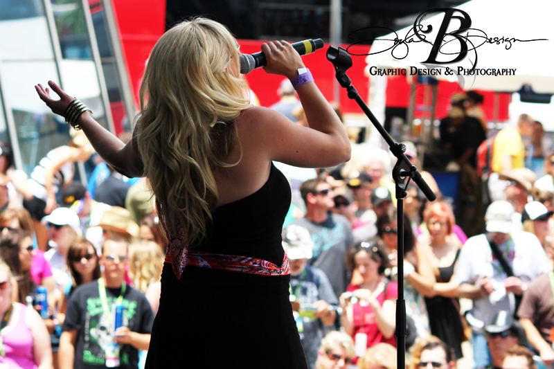 Julie Roberts at CMA Fest