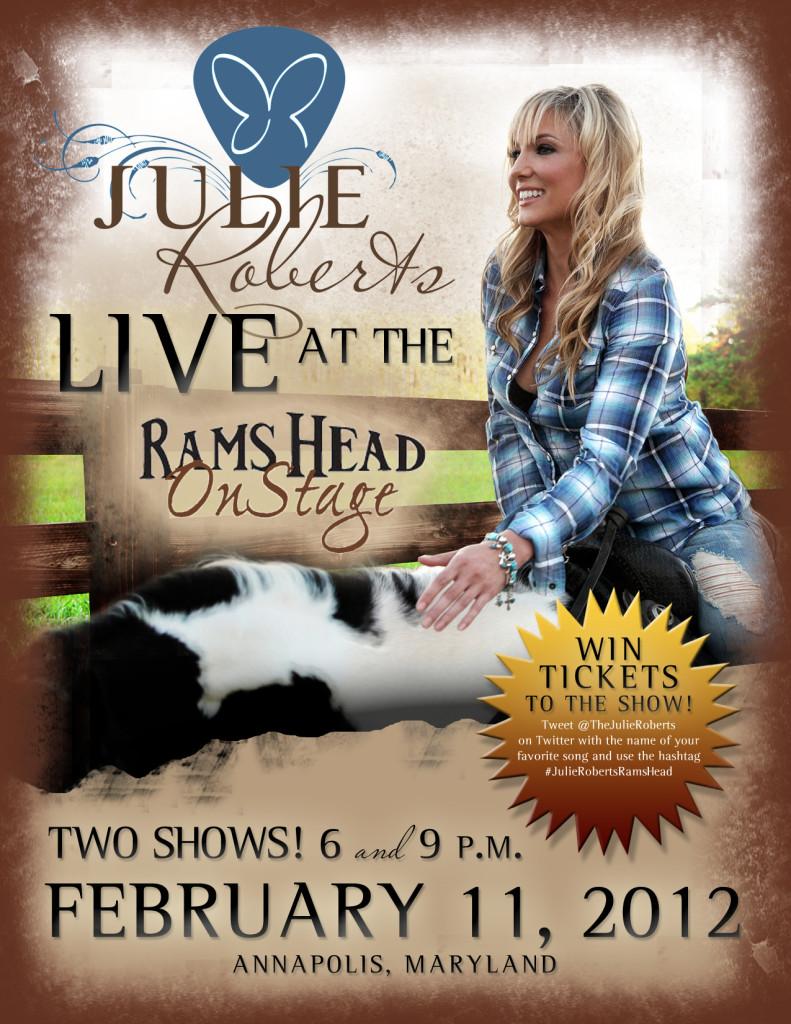 Julie Roberts Live
