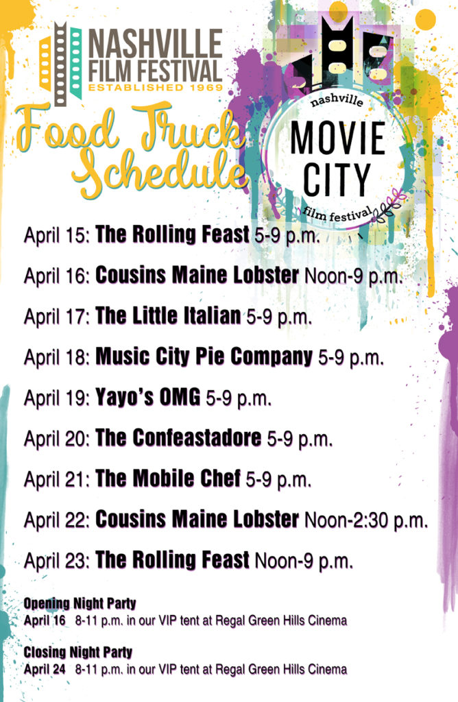 Food Truck Poster 2016